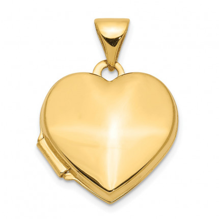 XL434 | Gold Heart Locket | Payroll Jewelry
