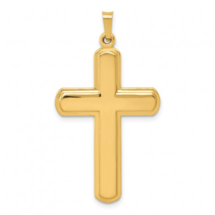 XR1562 | Gold Latin Cross Pendant | Payroll Jewelry