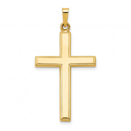 XR240 | Gold Cross Pendant | Payroll Jewelry
