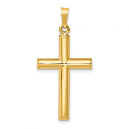 XR246 | Gold Cross Pendant | Payroll Jewelry