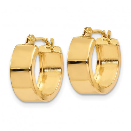YE1499 | Gold Hoop Earrings | Payroll Jewelry